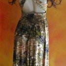 Victoria's Secret $99 Animal Print Knot Front Dress Medium 275359