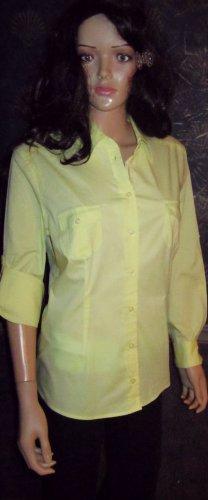Victoria's Secret Front Pocket Yellow Camp Shirt Large 267500