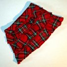 Koala Kids Red Tartan Plaid Skirt with Red Diaper Cover 18 Month 432972