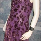 Donna Ricco $149 Long Burgundy Bordeaux Full Length Evening Party Dress 10  719728