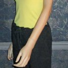 Victoria's Secret Bra Top Yellow Braided Tank Top Small  194129