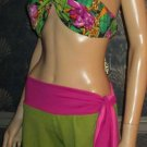 Victoria's Secret $82 Becca Gaucho Swimsuit Cover-Up Pants Medium  195027