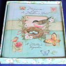 NIB $49 Finely Illustrated Hardcover A Mother's Keepsake Baby Journal 713713