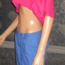Victoria's Secret $60 Blue Cargo Cropped Pants 2 281631