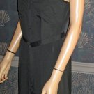 Victoria's Secret $98  Maxi Sleeveless Long Black Dress Size Small 296763