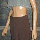 Victoria's Secret Bridget Fit Brown Belted Dress Pants 0  188659
