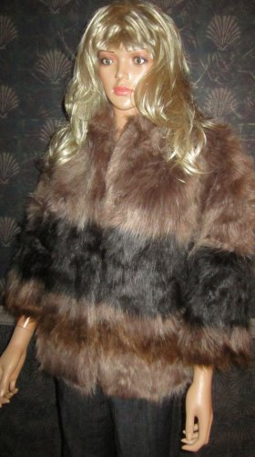 Victoria's Secret $178 Raccoon Faux Fur Jacket Medium/Large 285905