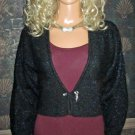 Victoria's Secret $98 Black Mohair Cardigan Sweater Small  148246