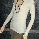 Victoria's Secret $50 Beige V-Neck Sweater Medium  286453