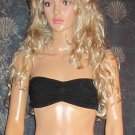 Victoria's Secret PINK $30 Black Lace Bandeau Top Bra Medium  284402