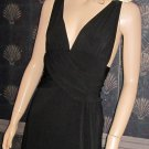 Victoria's Secret $108 Black & Gold Ring Cocktail Party Dress Small  209250