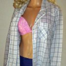 Victoria's Secret Mayfair Pajama Shirt XS Small  294676