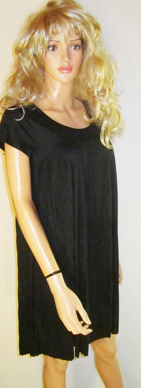 Victoria�s Secret $98 Short Sleeve Little Black Dress Medium  215032
