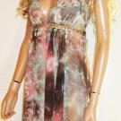 Victoria's Secret ABS Allen Schwartz Halter Handkerchief Cocktail Party Dress 0 182728