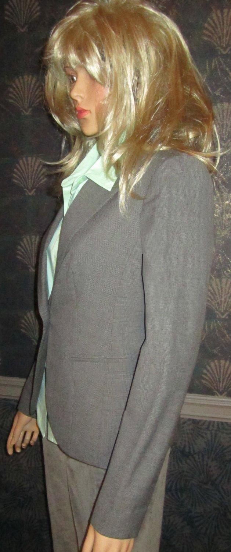 Victoria�s Secret $128 Seasonless Glen Plaid Black & White Jacket Blaze 2  213110