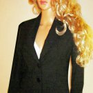 Victoria's Secret $148 Classic Black Blazer Jacket 2 213584
