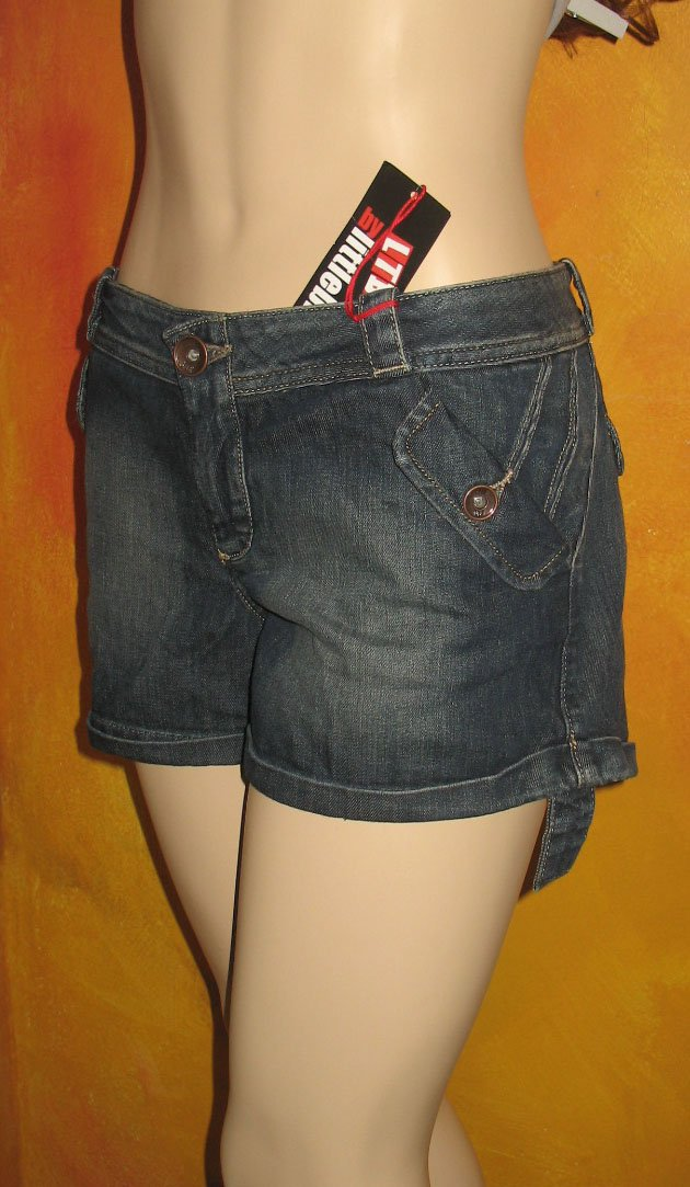 NWT Victoria's Secret Littlebig Blue Denim Shorts 8 or size 29 199099