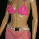 Victoria's Secret Pink Polka Dot Triangle Bikini Top XS 269642