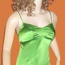 Victoria's Secret Silk Push-Up Padded Underwire Green Cami Tank Top Size XS 163320