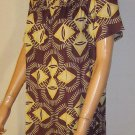 Victoria's Secret $59 Short Sleeve Purple Print Dress XL  239301