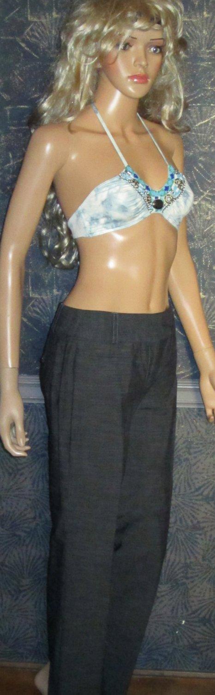 NWT Apt. 9 Classic Fit  Elegant Gray Black Dress Pants 6P 112133