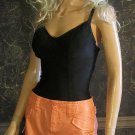 Victoria's Secret Raw Hem Distressed Orange Cargo Mini Skirt 6 250815