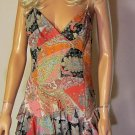 Victoria's Secret $98 Sleeveless Paisley Party Dress 12 184019