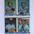 1984 Fleer #212 Ed Romero Milwaukee Brewers