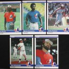 1984 Fleer #272 Warren Cromartie Expos