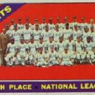 1966 Topps #172 Mets TEAM card Baseball Cards Card