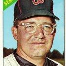 1966 Topps #46 Howie Koplitz Senators Baseball Cards Card