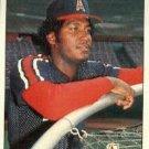1984 Fleer # 527 Luis Sanchez Angels Baseball Cards Card Rare Old Vintage