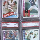 1984 TOPPS #550 JIM RICE RED SOX HOF PSA 8 Certified Baseball Cards Card Rare Vintage Old