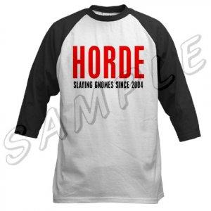 Horde Baseball Jersey