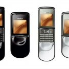 Nokia 8800 sirocco Black/Silver/Gold Mobile Phone Unlocked