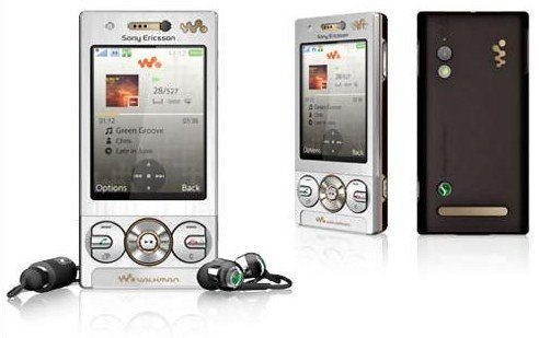 Sony ericsson W705 Unlocked mobile phone----Black,Silver,Pink