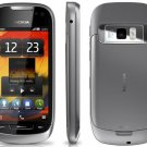 Unlocked Nokia 701 Steel Dark 8MP 3G 8GB Symbian Belle Cell Phone---Black,Silver