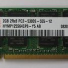 BenQ T131, S42, R43, X31, S31, A52, T132, A53 notebook memory of DDR2 667 2G