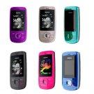 Unlocked Nokia 2220 Slide FM Mobile Phone---Pink,black,blue,gray