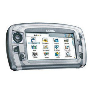 Unlocked nokia 7710 Triband Cell Phone---Silver Gray