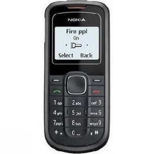 Nokia unlocked 1202 Cheap Cell Phone--black,blue