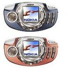 Unlocked Nokia 3300 Cellular Phone-----Blue,Orange