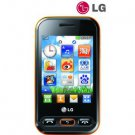Unlocked LG T320 WiFi Wink 3G Cell Phone----Black,Orange