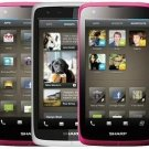 "Unlocked Sharp SH530U 5"" Touchscreen HSDPA WI-FI 5MP Android 4.0 Cell Phone----White,Pink"