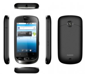 Huawei Deuce U8520 Android 2.2  dual cards dual standby 3G smartphone-----  Black