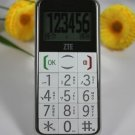 Unlocked ZTE S202 old people mobile phone big button FM vibration ----Black,White