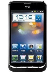 "ZTE V961 dual core 1GHz 4.3"" screen 5MP Android 3G Unlocked Smartphone-----Black"