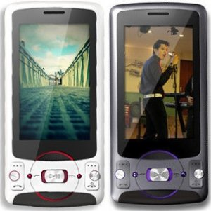 OPPO A209 Dual-Band 5MP GSM Music Cell Phone----Gray,White