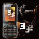 Lenovo A322 DUAl-SIM GSM Cell phone---Black