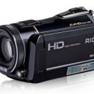 RICH HD-A85 HD  20MP 120 times zoom Camcorder Free 8GB SD----Black